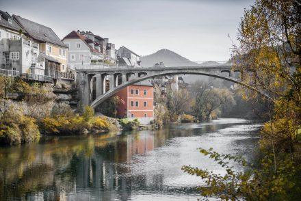 Architekturfotografie Brücke bei Zell an der Ybbs PORR