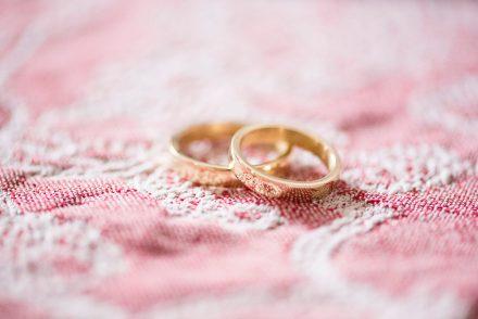 Hochzeitsfotografie Ringe