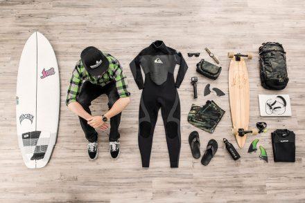 Ausrüstung Surf