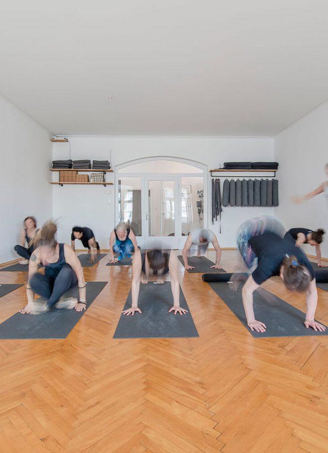 Fotos für die neue Yoga-Homepage