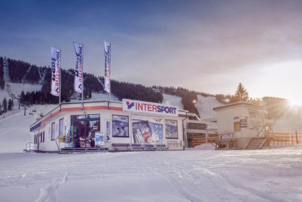 Architekturfotografie Hinterstoder Pachleitner Shop am Berg