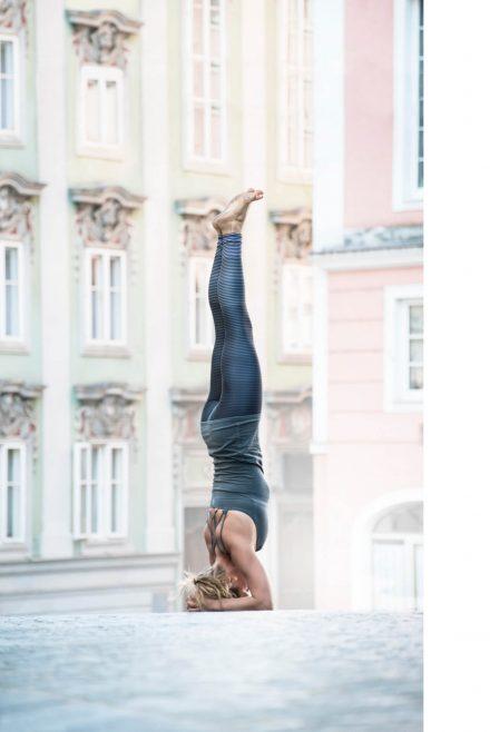Yoga-Fotografie Linzer Altstadt