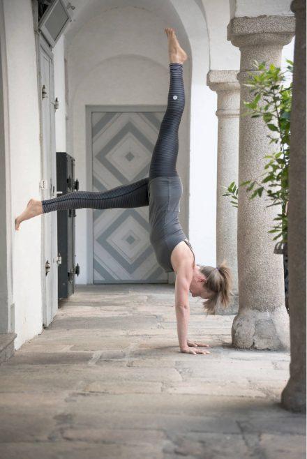 Yoga-Fotografie Handstand