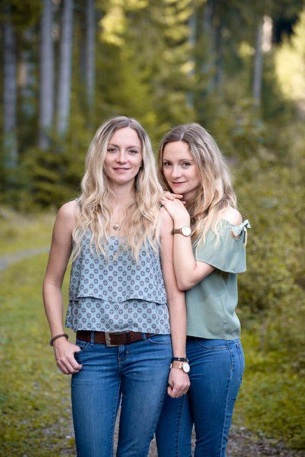 Zwillinge-Portrait Linz
