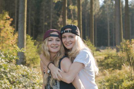 Fotoshooting Zwillinge Otdoor