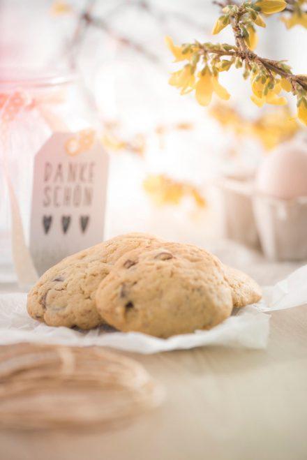Stillive Osterstimmung Süße Kekse