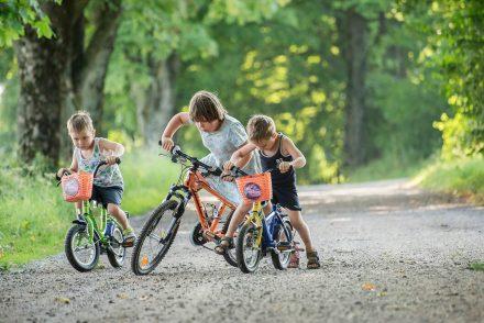 gemeinsames Radfahren