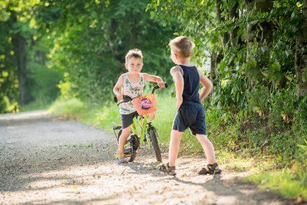 Kinder Radfahren