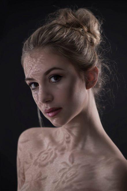 Foto Schattenspiele Portrait