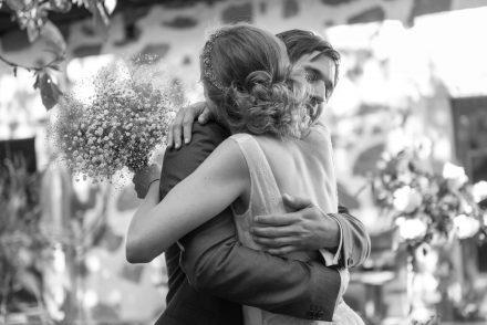 Hochzeit Fotografie echte Umarmung