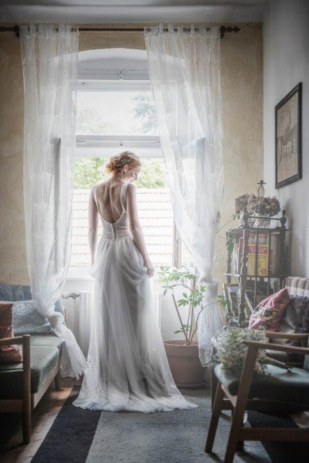 Hochzeit Fotografie Brautkleid