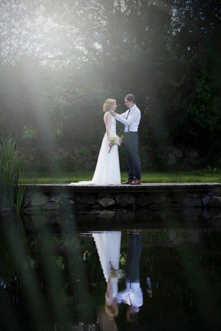Fotografie Hochzeit Paarfoto am See