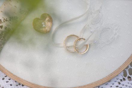 Fotografie Hochzeitsringe Vintage