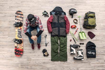 Ausrüstung Snowboard