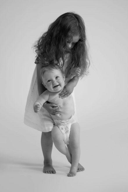 Schwestern Kinderfotografie